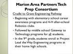marion area partners tech prep consortium1