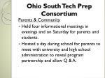 ohio south tech prep consortium