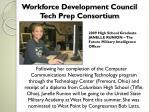workforce development council tech prep consortium