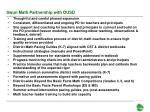 swun math partnership with ousd