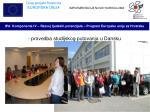 provedba studijskog putovanja u dansku