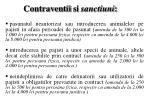 contraventii si sanctiuni