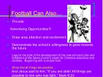 football can also