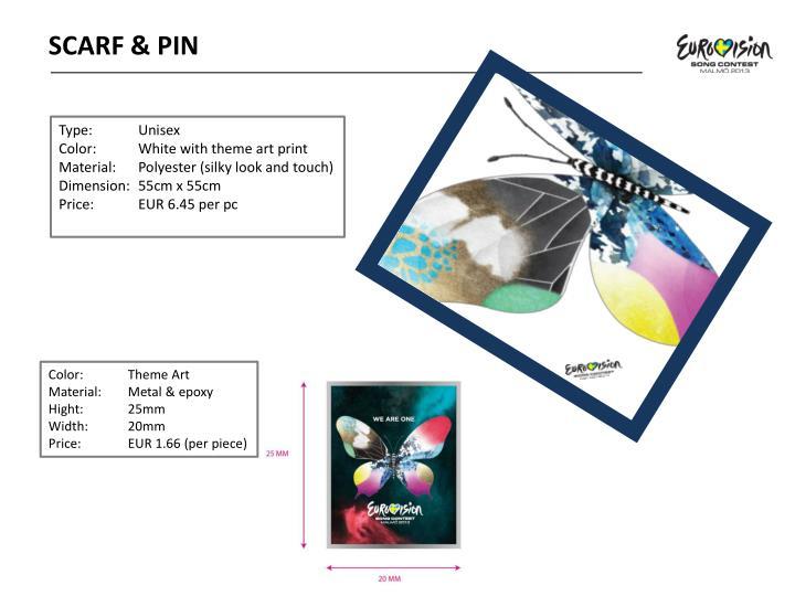 SCARF & PIN