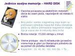 jedinice spoljne memorije hard disk1