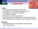 kryokonservierung von ovargewebe1