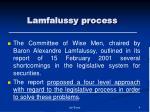 lamfalussy process