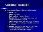 cookies kola i i