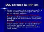 sql naredbe sa php om2