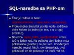 sql naredbe sa php om3