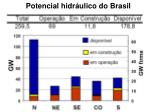 potencial hidr ulico do brasil