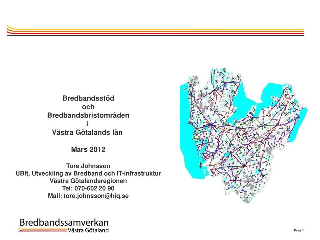 fiberföreningar västra götaland