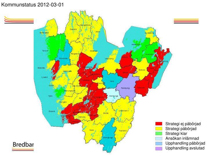 Kommunstatus 2012-03-01
