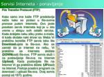 servisi interneta ponavljanje3