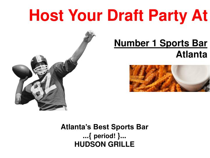 host your draft party at n.