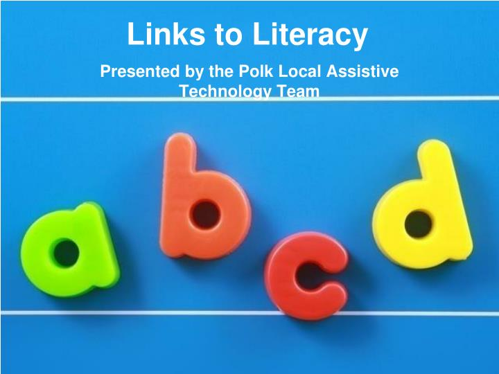 links to literacy n.