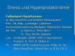 stress und hyperprolaktin mie1