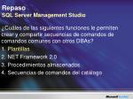 repaso sql server management studio