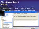 sql server agent proxies