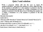 quiz 3 and solution