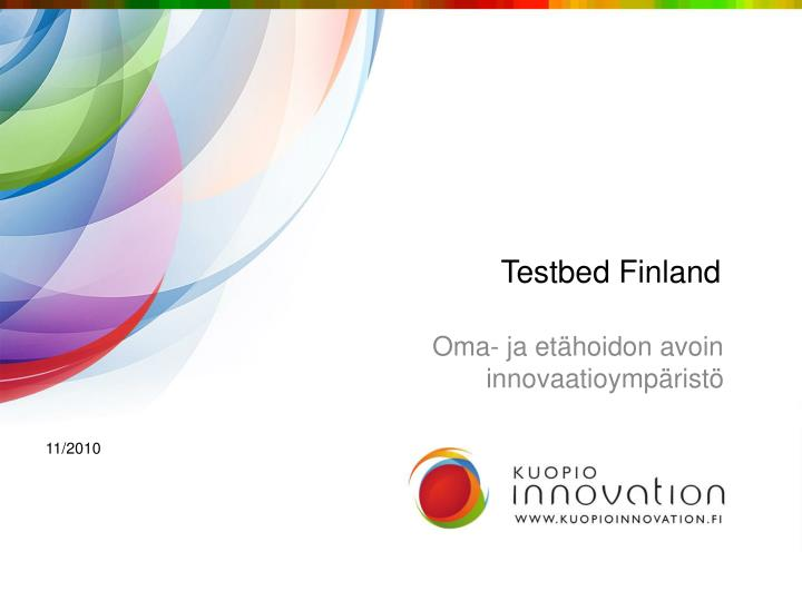 testbed finland n.