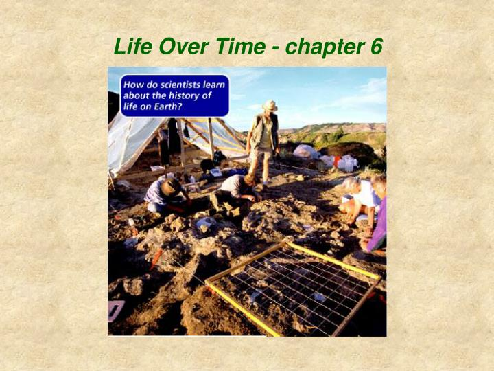 life over time chapter 6 n.