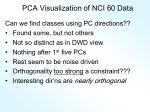 pca visualization of nci 60 data2