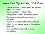 yeast cell cycle data fda view2