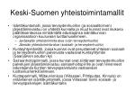 keski suomen yhteistoimintamallit