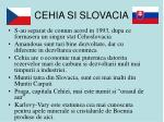 cehia si slovacia