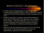 boala celiac etiopatogenie