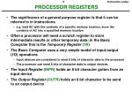 processor registers1