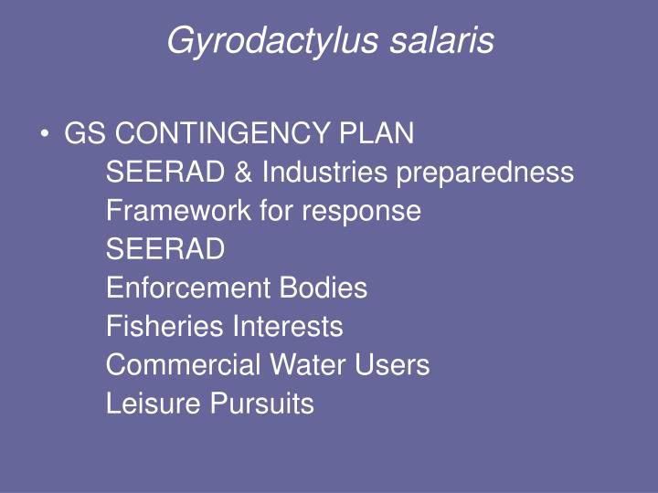 Gyrodactylus salaris