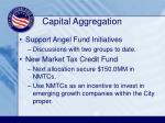 capital aggregation