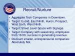 recruit nurture
