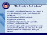 the cleveland tech industry