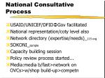 national consultative process
