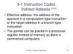 5 1 instruction codes indirect address cont1