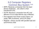5 2 computer registers common bus system cont2