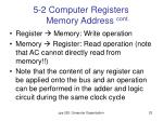 5 2 computer registers memory address cont