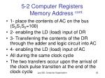 5 2 computer registers memory address cont2