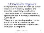 5 2 computer registers