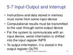 5 7 input output and interrupt