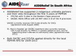 aidsrelief in south africa