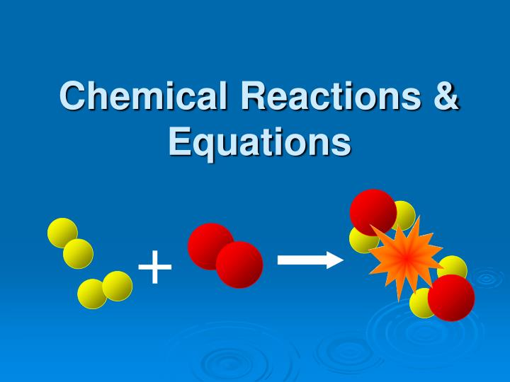 chemical reactions equations n.