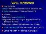 gafa traitement