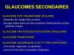 glaucomes secondaires1