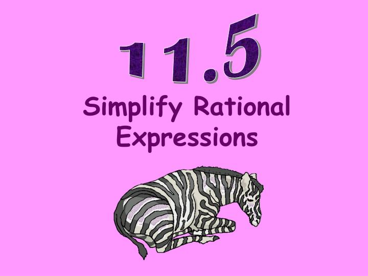simplify rational expressions n.