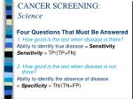 cancer screening science4