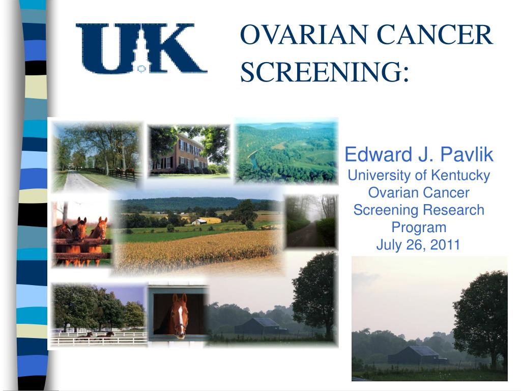 Ppt Ovarian Cancer Screening Powerpoint Presentation Free Download Id 4552450